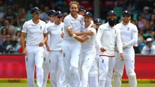 Stuart Broad early blows give England upper hand with SA 55 for 2 going into tea on Day 2, 1st Test at Durban
