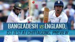 Bangladesh vs England 2016, 1st Test at Chittagong, Preview and Predictions: Hosts look to avenge ODI series defeat