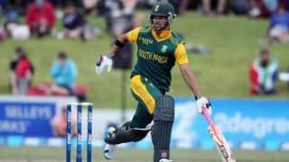 JP Duminy scores half-century against India in ICC World T20 2016 warm-up match at Mumbai