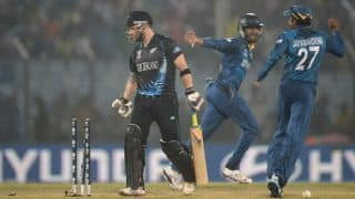 Brendon McCullum trying to