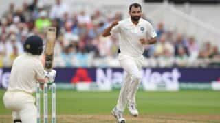 कुंबले को पछाड़ शमी बने विदेश में एक साल में सर्वाधिक विकेट लेने वाले खिलाड़ी