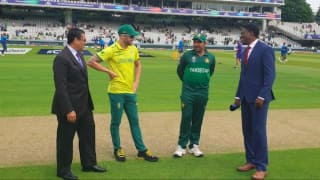 Cricket World Cup 2019: Malik and Hasan dropped, Pakistan bat against South Africa at Lord's