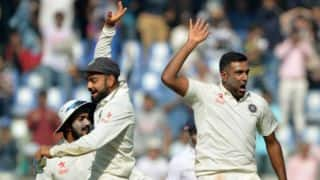 Day 1 report: Ashwin's 4-for reduces tourists to 288/5 after Jennings' ton