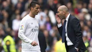 Zinedine Zidane regrets not resting Cristiano Ronaldo