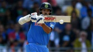 India vs West Indies, 1st ODI: India 199/3, Rain stops play