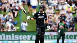 3rd ODI: Ross Taylor makes history as New Zealand surge to 330