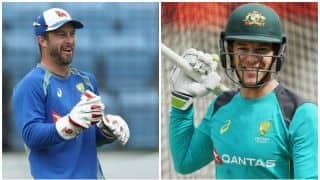 Tim Paine set to displace Matthew Wade in the Australia ODI squad for upcoming ODI series against England
