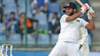 Sri Lanka crawl to 205-8 at tea, Day 1, 2nd Test against Bangladesh