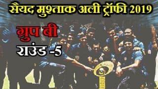 Syed Mushtaq Ali Trophy 2019, Round 5, Group B: Tamil Nadu loes to Himachal Pradesh Despite Murali Vijay Half Century
