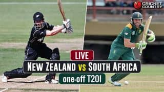 Live Cricket Score, NZ vs SA, Only T20I at Auckland: Tahir's 5-for guides SA to a 78-run win