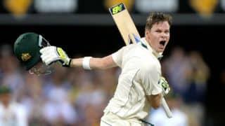 भारत में पहला शतक ठोकने के साथ ही स्मिथ ने मेजबानों के खिलाफ जड़ा लगातार पांचवां टेस्ट शतक