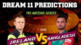 Dream11 Prediction: IRE vs BAN Team Best Players to Pick for Today's Match between Ireland and Bangladesh at 3:15PM