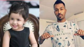Ziva Dhoni becomes bus driver for uncle Hardik Pandya