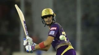 KXIP vs KKR LIVE: Shubman Gill fifty drives Kolkata Knight Riders to 157/3 in 16, chasing 184 to win vs Kings XI Punjab