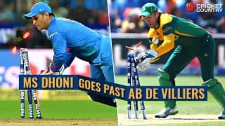 MS Dhoni, Rohit Sharma set records, other statistical highlights