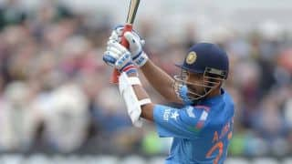 India vs England 2014, 4th ODI at Edgbaston: Ajinkya Rahane gets half-century