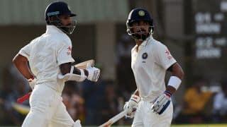India vs West Indies 3rd Test: Shikhar Dhawan, Virat Kohli dismissed early as India reach 19/2