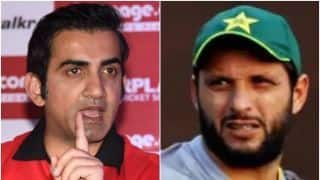 Gautam Gambhir, Shahid Afridi have to be sensible: Waqar Younis urges former cricketers to end differences